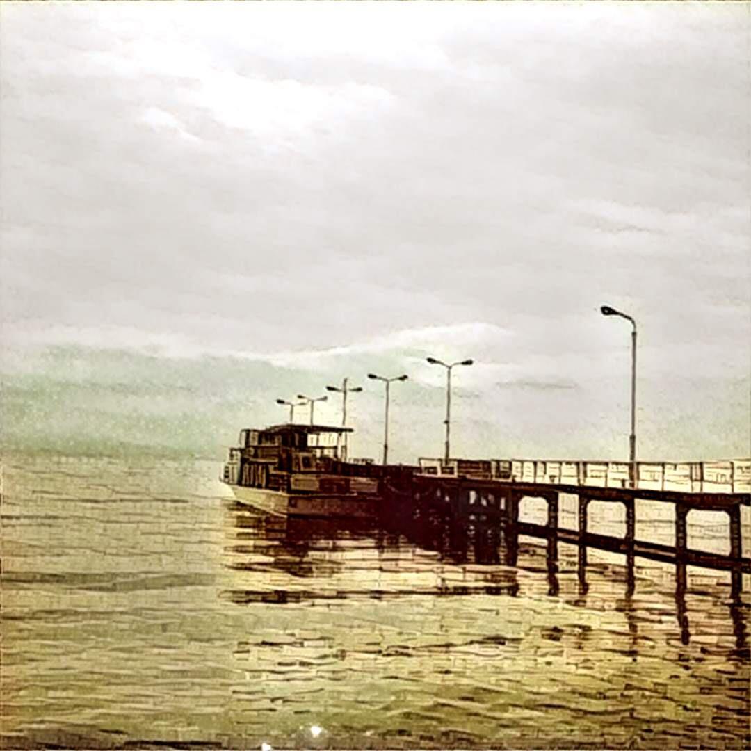 琵琶湖の船着場