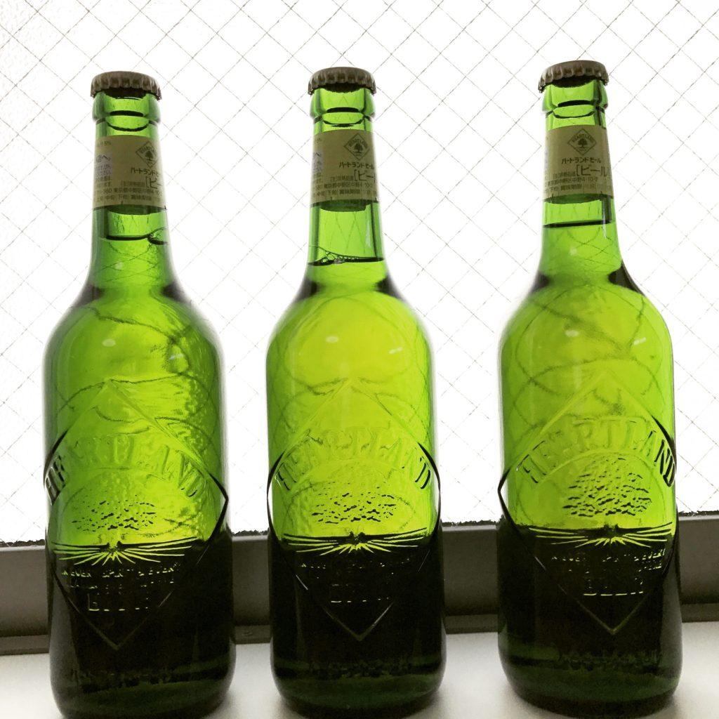 ハートランドの空き瓶