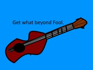 変な形のアコースティックギター