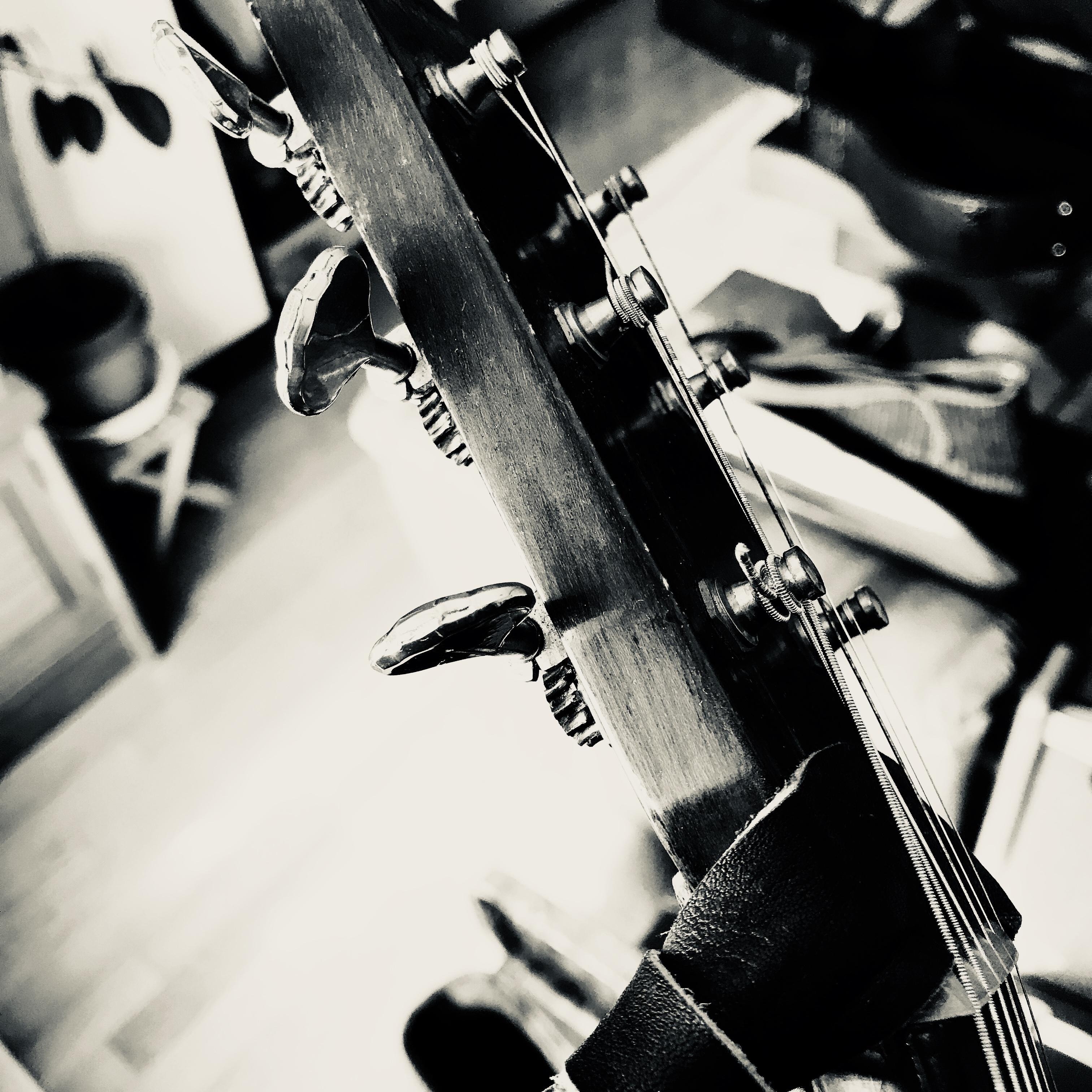 ギターのヘッドの写真