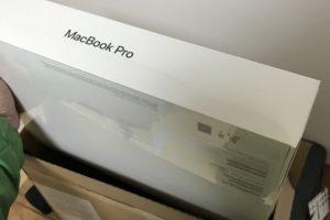 MacBook Proを取り出した!買った!