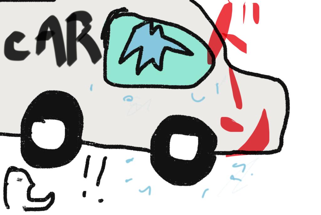 車上荒らしの被害にあった!