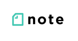 noteのロゴ