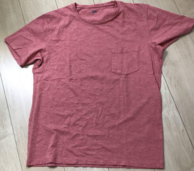 ユニクロのワンポケットTシャツ