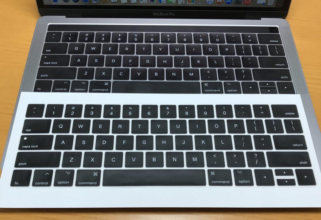 MacBook Proのキーボードカバーのご案内
