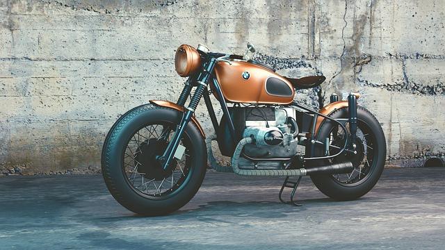 BMWのクールなオートバイ