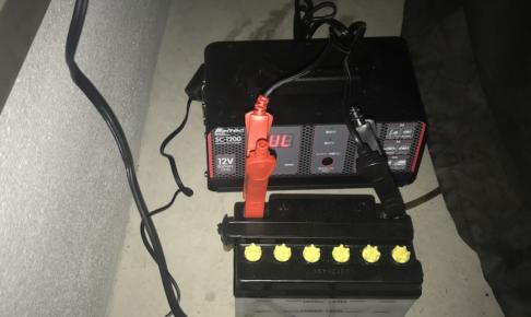 バッテリー充電器メルテックSC-1200の使い方説明