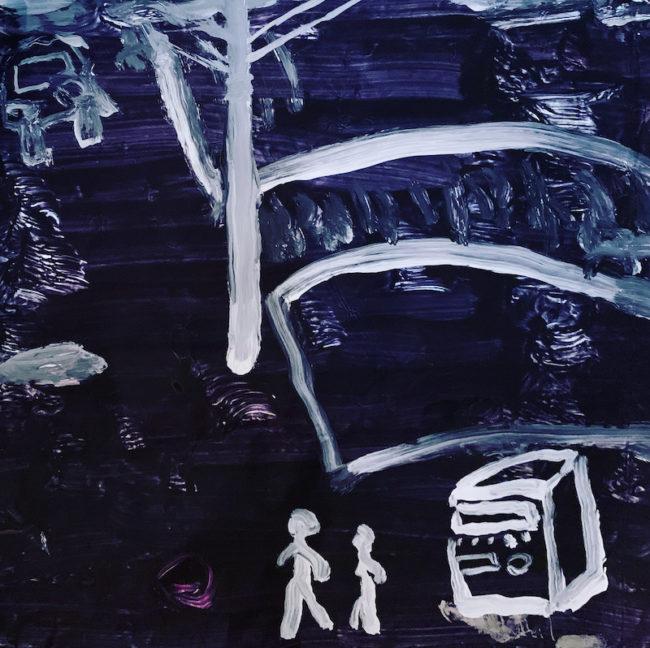 ダリーブルースの描いた絵タイトル「夜の支配者」