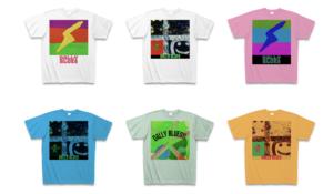ダリーブルースのBASEのTシャツショップの一部ラインナップ画像